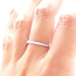 ダイヤモンドエタニティリングハーフエタニティリングプラチナ900(PT900)0.20ct小指ピンキーリングミディリングファランジリング指輪レディース【送料無料】