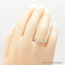 k18ダイヤモンドリング0.45ct