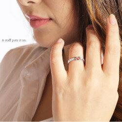 ピンクトルマリン10月の誕生石18金ダイヤモンドリング0.10ctスクエアカットk18ゴールド指輪レディースジュエリー【送料無料】【コンビニ受取対応商品】824カード分割