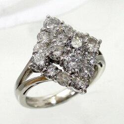 【送料無料】ダイヤモンドリングプラチナ900PT9002.00ct指輪レディース