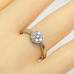 【送料無料】ダイヤモンド0.20ctリング指輪K18ゴールドサークルリング18金レディース
