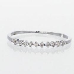 【送料無料】エタニティリングダイヤモンド0.08ctシンプルリング