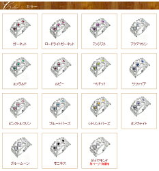 【送料無料】カラーストーンリング9月誕生石サファイアK18ゴールド18金ハート指輪レディース【_包装】【_名入れ】