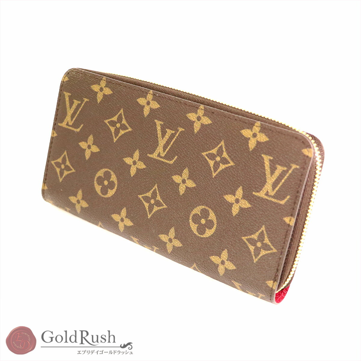 4d9c0d0fe671a8 ルイヴィトン LOUIS VUITTON モノグラム ジッピーウォレット 長財布 ...