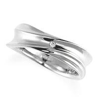 ペアリング(女性用)結婚指輪マリッジリング結婚記念プラチナ900ダイヤモンドリング《NourishM0979L》【刻印無料ケース付き送料無料】【RCP】【0601カード分割】