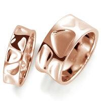ペアリング(2本セット)結婚指輪マリッジリング結婚記念K18ピンクゴールド《NourishM0214》【刻印無料ケース付き送料無料】【RCP】【0601カード分割】