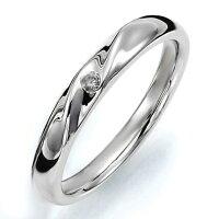 ペアリング(女性用)結婚指輪マリッジリング結婚記念プラチナ900ダイヤモンドリング《PrimeM0059L》【刻印無料ケース付き送料無料】【RCP】【0601カード分割】