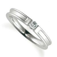ペアリング(女性用)結婚指輪婚約指輪マリッジリングプラチナ900ダイヤモンドリング0.1ct《ProudM1004L》【刻印無料ケース付き送料無料】【RCP】【0601カード分割】