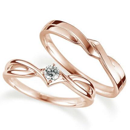 ブライダルジュエリー・アクセサリー, 婚約指輪・エンゲージリング (2) K18 0.1ct Proud M1035 RCP 532P17Sep16