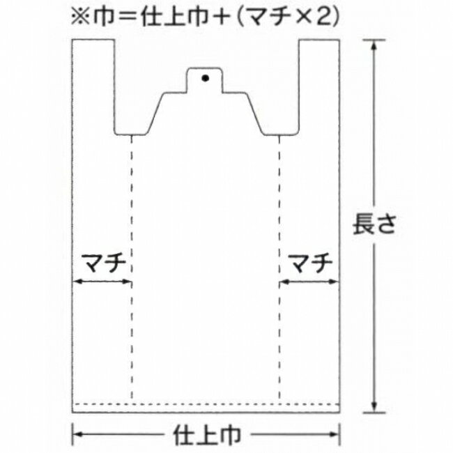 【福助工業】イージーバッグ 関西 厚口 No.50 100入 0470589