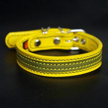 アウトレット2cm幅中型犬用革首輪(29cm)