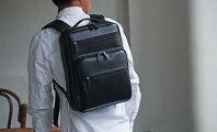 ビジネスリュックメンズA4ファイルブリーフケースビジネスバッグ軽量軽いシンプルA4角シボ#42552