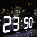 インテリア雑貨 おしゃれ 【即納】【人気商品】 暗闇に数字が浮かび上がる 3Dデザイン LED時計 ネオン 時計 文字だけ時計 オシャレ 3D LED led デジタル 時計 triclock トリクロック 寝室 リビング 子供部屋 置き時計 壁掛け ネオン時計 アラーム 癒しグッズ おうち時間