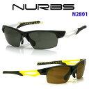 ヌーブス NURBS ハイカーブ 偏光レンズ 度付きスポーツサングラス N2801 超薄型8カーブ度付き偏光レンズ付き