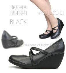 「Re,GetAリゲッタパンプス7cm」はきやすい、歩きやすい、かわいい【日本製】