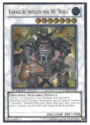 トレーディングカード・テレカ, トレーディングカードゲーム () 550011000 KARAKURI SHOGUN MDL 00 BUREI(A)(1st)()