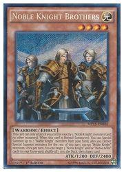 トレーディングカード・テレカ, トレーディングカードゲーム () 550011000 NOBLE KNIGHT BROTHERS(S)(1st)()(MP15)