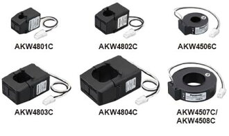 Panasonic-only current sensor (CT) eco-DIN type-only CT 250 A/400 A transmembrane AKW4507C
