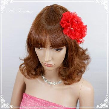 ヘッドドレス 髪飾り 花かんむり 花嫁 ウエディング ヘッドドレス fhds010rd