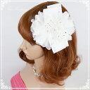 ヘッドドレス 髪飾り 花かんむり 花嫁 ウエディング ヘッドドレス fhds030we