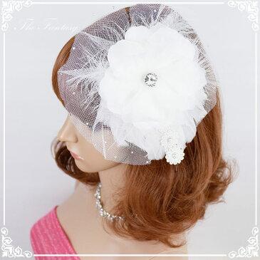 ヘッドドレス 髪飾り 花かんむり 花嫁 ウエディング ヘッドドレス fhds032we