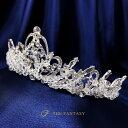 ティアラ 結婚式 ウエディング 披露宴 ブライダル tiara 花嫁 髪飾り ft9069sr 2