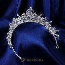 ティアラ 結婚式 ウエディング 披露宴 ブライダル tiara 花嫁 髪飾り ft9069sr 3