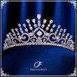 ティアラ ウェディング 金メッキ ティアラ CZキュービック 王冠 ティアラ シルバー 結婚式 クラウン ヘッドドレス 花冠 ft9238sr