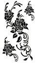 (ファンタジー) TheFantasy タトゥーシール タトゥーシール 薔薇 バラ トライバル hm273 【レギュラー】