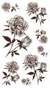 (ファンタジー) TheFantasy タトゥーシール タトゥーシール バラ 薔薇 hm421 【レギュラー】