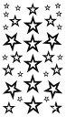 (ファンタジー) TheFantasy タトゥーシール タトゥーシール 文字 記号 星 スター hm428 【レギュラー】