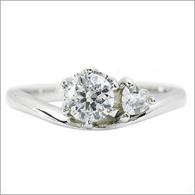 (0.3ct)(Dカラー)(VS1)(EXCELLENT)(婚約指輪、エンゲージリング、ダイヤモンド、リング、ネックレス)