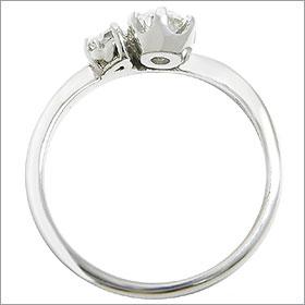 (0.5ct)(Fカラー)(VVS1)(EXCELLENT)(婚約指輪、エンゲージリング、ダイヤモンド、リング、ネックレス)