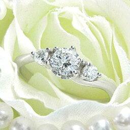 ダイヤモンド婚約指輪 サイズ直し一回無料 0.25ct E VVS2 EXCELLENT Sラインサイドメレ6本爪 プラチナ Pt900 婚約指輪(エンゲージリング)