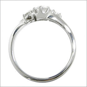 (0.5ct)(Eカラー)(VVS1)(EXCELLENT)(H&C)(婚約指輪、エンゲージリング、ダイヤモンド、リング、ネックレス)