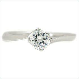 (0.3ct)(Dカラー)(VS1)(EXCELLENT)(H&C)(3EX)(婚約指輪、エンゲージリング、ダイヤモンド、リング、ネックレス)