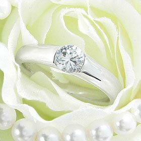 ダイヤモンド婚約指輪 サイズ直し一回無料 0.25ct E VVS2 EXCELLENT H&C 3EX 伏せこみタイプ プラチナ Pt900 婚約指輪(エンゲージリング)