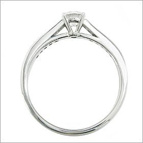 (0.3ct)(Fカラー)(VS1)(EXCELLENT)(婚約指輪、エンゲージリング、ダイヤモンド、リング、ネックレス)