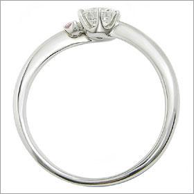 (0.5ct)(Fカラー)(VVS2)(EXCELLENT)(婚約指輪、エンゲージリング、ダイヤモンド、リング、ネックレス)