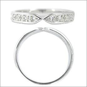 マリッジリングEternita(エテルニタ)Pensiero(ペンシエロ)《MR-4L》&《MR-4LD》2本セットPT950(純度95%プラチナ)/ダイヤモンド約0.14ct