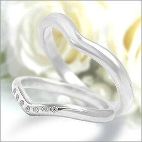 マリッジリングEternita(エテルニタ)Elegante(エレガンテ)《MR-5M》&《MR-5LD》2本セットPT950(純度95%プラチナ)/ダイヤモンド約0.35ct