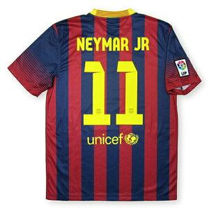 Nike バルセロナユニフォーム 13/14 ホーム No.11ネイマール オフィシャルマーキング【サッカー...