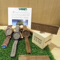 WEWOOD/ウィーウッド/ASSUNTCHOCOROUGH/ウォッチ腕時計/天然木こげ茶木製エコウォッチ