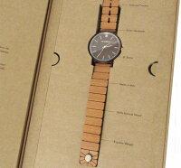 ABAETERNO/アバテルノ/腕時計/ウッドウォッチ/HARMONEYハーモニーコレクションSOUL/ウォッチ98250149825015ブラウン×ブラウンイタリア木製40mm35mm