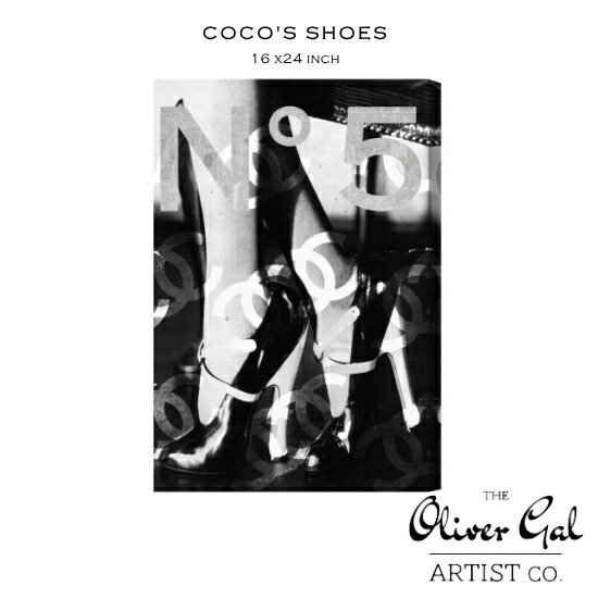 【OliverGal】オリバー・ガル/アート/絵画/インテリア雑貨/シャネルヒールデザイン/COCO