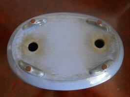 盆栽鉢【均釉袋式楕円】楕円鉢