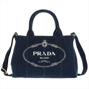 프라다 PRADA 핸드백 캬 링 백 1 BG439 CANAPA / BALTICO 네이비