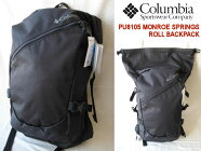 Columbia/コロンビア【モンロースプリングスロールバックパック】MONROESPRINGSROLLBACKPACKPU8105010/Black