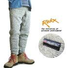 ROKX/ロックス【ザ・グースパンツ/THEGOOSEPANT】ポーラテック/ニットフリースパンツRXMF191067ヘザーグレー