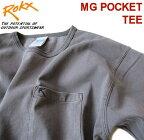 ROKX/ロックス【エムジーポケットTシャツ】MGPOCKETTEERXMS204063チャコール